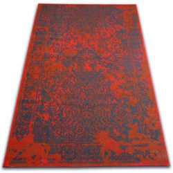 Vintage szőnyeg 22208/021 piros klasszikus rozetta
