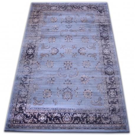 szőnyeg heat-set Jasmin 8628 kék