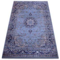 szőnyeg heat-set Jasmin 8676 kék