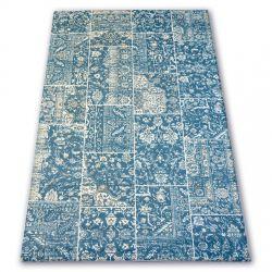 Akril deniz szőnyeg 7483 Mavi