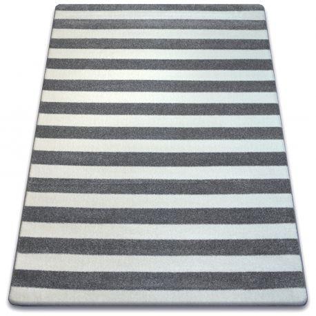 Sketch szőnyeg - F758 szürke / fehér - Csíkok