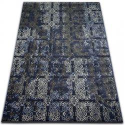 Drop jasmine szőnyeg 453 D.kék