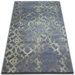 Drop jasmine szőnyeg 454 L.kék/Köd