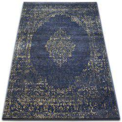 Drop jasmine szőnyeg 455 D.kék
