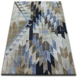 Drop jasmine szőnyeg 758 L.kék/Füst