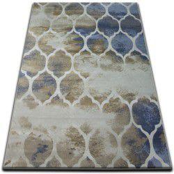 Drop jasmine szőnyeg 761 D.Bézs/L.kék