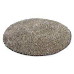 Shaggy szőnyeg kör micro c.bézs
