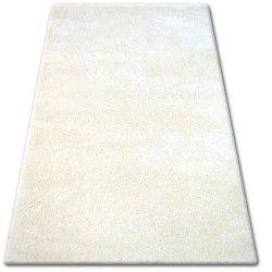 Shaggy narin szőnyeg P901 krém / fehér