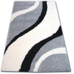 Shaggy szőnyeg zena 3182 szürke / fehér