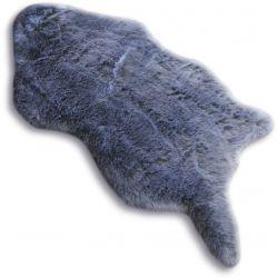 Skin szőnyeg 60x90 cm DOLLY taupe A BŐR UTÁNZATA BŐR