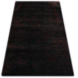 Shaggy narin szőnyeg P901 fekete piros
