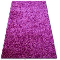 Shaggy narin szőnyeg P901 ibolya
