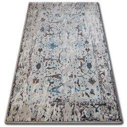 Akril talas szőnyeg 0309 Fehér/Üveg Kék