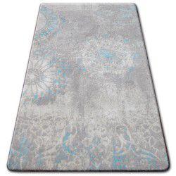 Akril patara szőnyeg 0129 L.Homok/Turquise