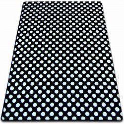 Sketch szőnyeg - F764 fekete/fehér - Pontok