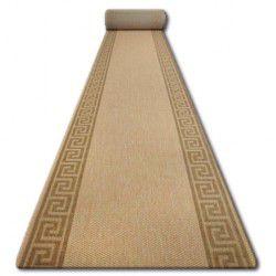Sizal futó szőnyeg FLOORLUX minta 20014 mais / coffe