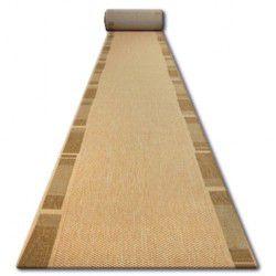 Sizal futó szőnyeg FLOORLUX minta 20195 mais / coffe