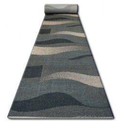 Sizal futó szőnyeg FLOORLUX minta 20212 fekete / coffe