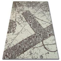 Akril florya szőnyeg 0304 bézs barna
