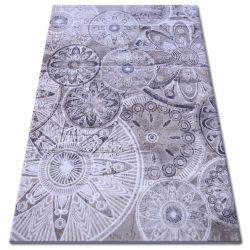 Akril florya szőnyeg 0242 bézs barna