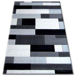 Pilly szőnyeg H201-8403 - fekete/ezüst