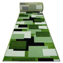 Heat-set Fryz futó szőnyeg PILLY - 8404 zöld/krém