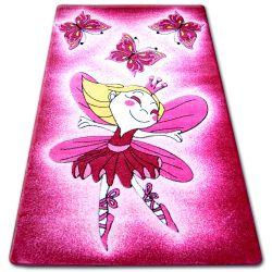 Happy gyermek szőnyeg C123 rózsaszín Wrózsaszínka