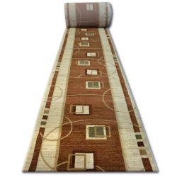 Heat-set futó szőnyeg kiwi 3419 barna