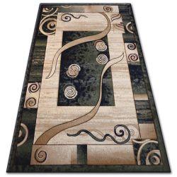 Kiwi heat-set szőnyeg 4623 fekete