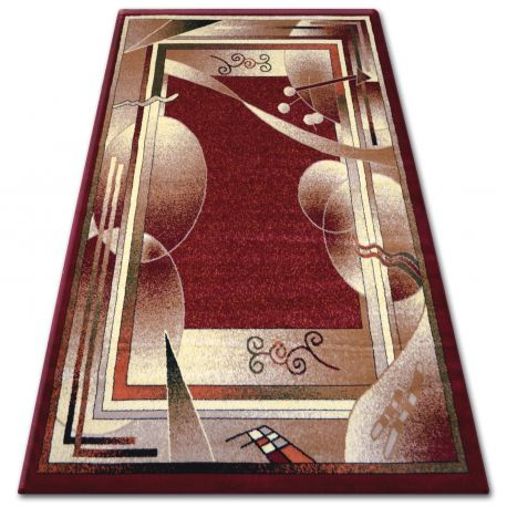 Heat-set primo szőnyeg 5741 bordó