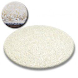 Shaggy galaxy szőnyeg kör 9000 krém