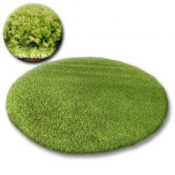 Shaggy galaxy szőnyeg kör 9000 zöld