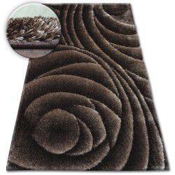 Shaggy szőnyeg space 3D B217 c.barna