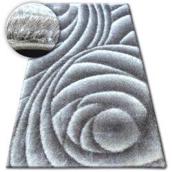 Shaggy szőnyeg space 3D B217 szürke