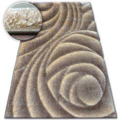 Shaggy szőnyeg space 3D B217 j.barna