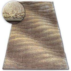 Shaggy szőnyeg space 3D B222 j.barna