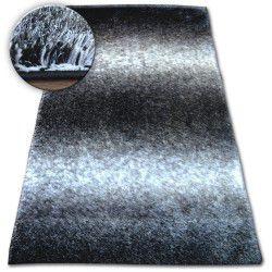 Shaggy szőnyeg space 3D B315 fekete/szürke
