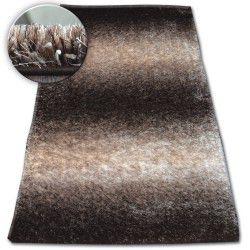 Shaggy szőnyeg space 3D B315 barna