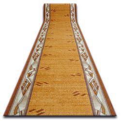 Csúszásgátló futó szőnyeg MODERN arany