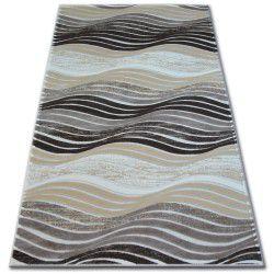 Akril yazz szőnyeg 1760 Barna/D.Bézs